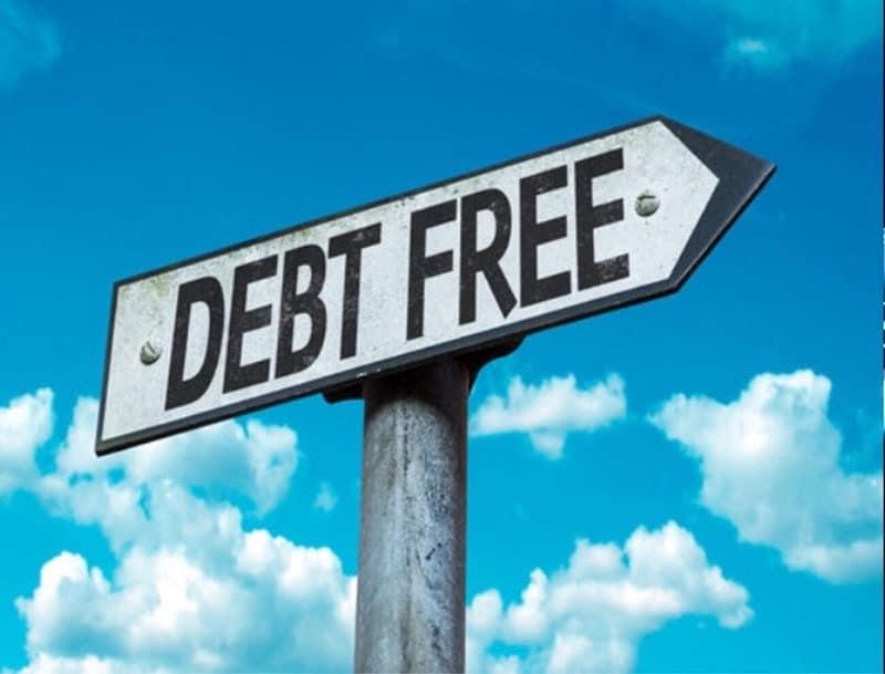 Debt free sign | SMART Mortgage Brokers
